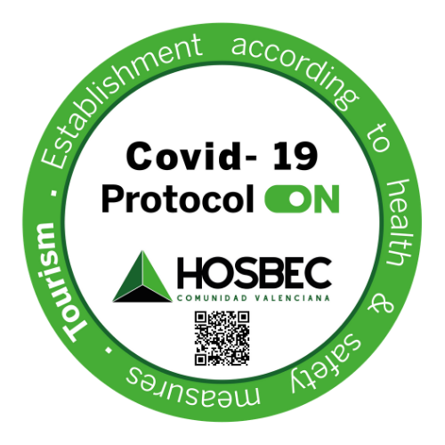 sello COVID 19 protocol ON